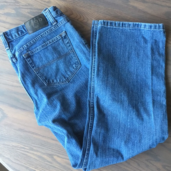 special sales low priced official images Izod Men's Jeans Relaxed Fit 32 Waist